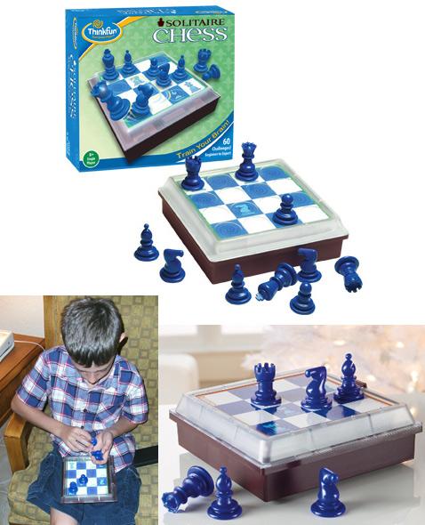 Solitaire Chess позиционируется для детей старше 8 лет. Однако опробовавшие игру блогеры говорят, что наибольшим спросом она пользуется у подростков (фото ThinkFun, Gabreial Wyatt/Vintage Indie, gizmag.com).