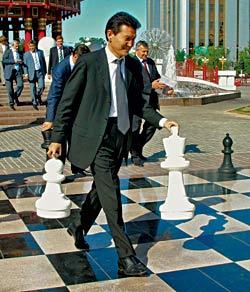 Калмыкские шахматы