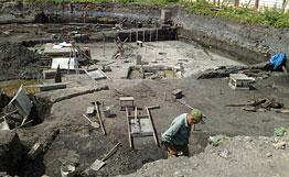 Раскопи в Новгороде